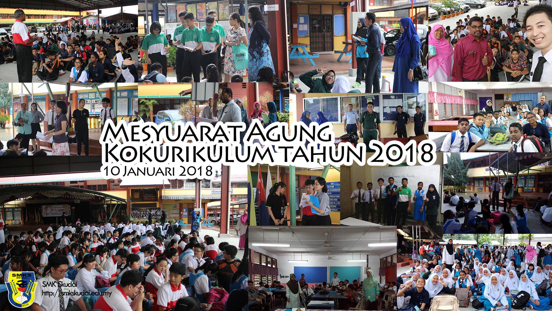 2018-01-10 Mesyuarat Agung Kokurikulum 2018