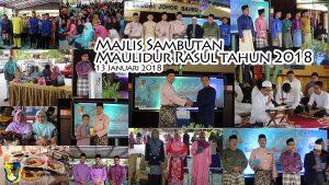 Majlis Sambutan Maulidur Rasul 1439H Tahun 2018