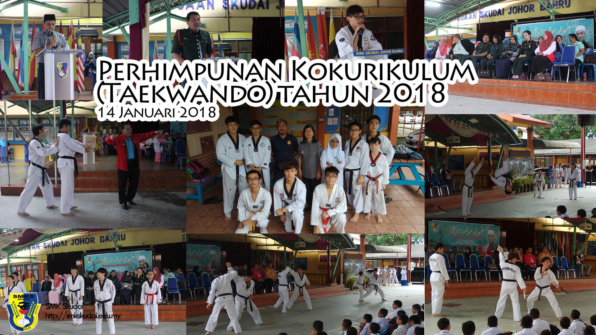 2018-01-14 Perhimpunan Kokurikulum (Taekwando)