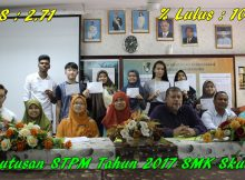2018-03-06 Keputusan STPM 2017 SMK Skudai