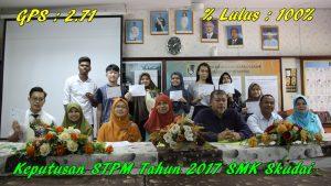 Keputusan STPM Tahun 2017