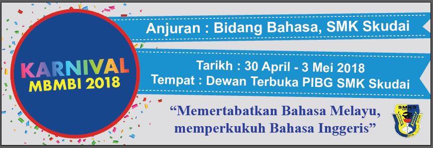 Karnival Bahasa SMK Skudai 2018