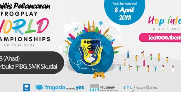 Majlis Pelancaran Frogplay World Championships SMK Skudai 2018