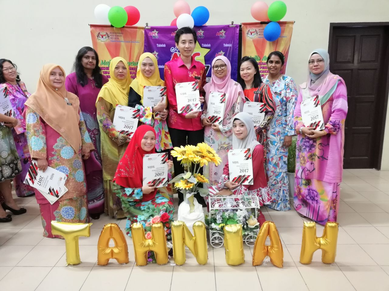 Majlis Penyampaian Anugerah Perkhidmatan Cemerlang 2017 Peringkat PPD Johor Bahru