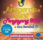 Undian Anugerah Guru Penyayang 2018