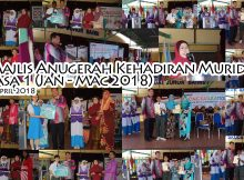 2018-04-08 Majlis Anugerah Kehadiran Murid Fasa 1 (Jan - Mac 2018)