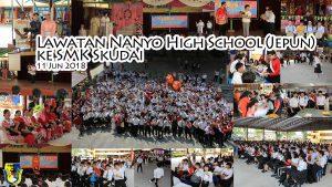 Lawatan Nanyo High School (Jepun) ke SMK Skudai