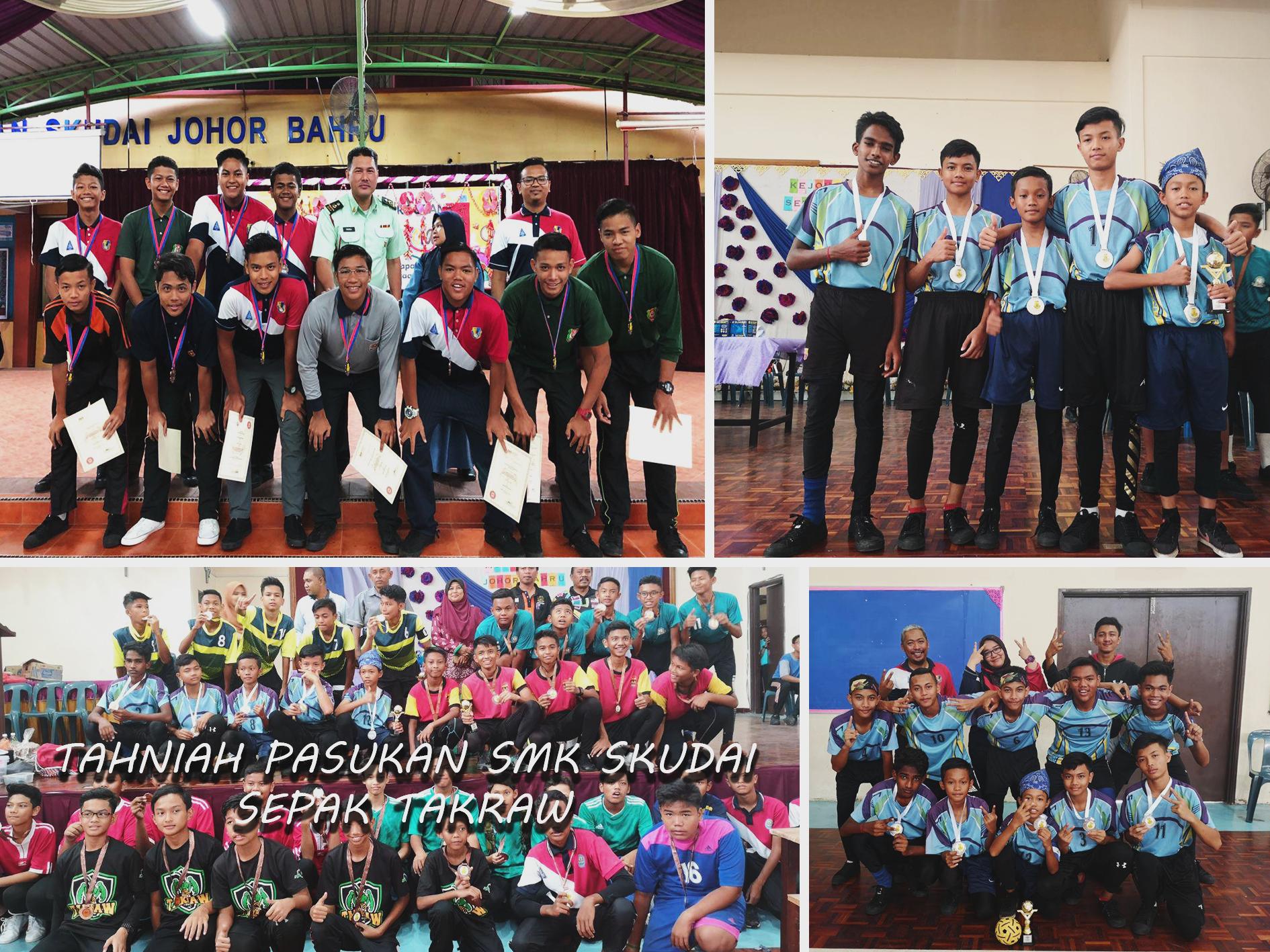 Tahniah SMK SKUDAI !!!