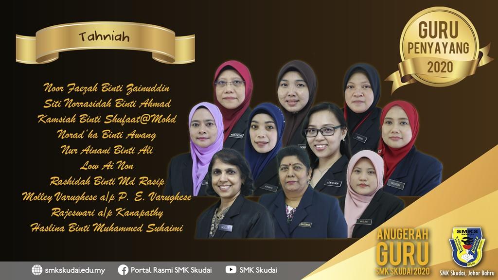 Anugerah Guru SMK Skudai 2020 - Guru Penyayang 2020