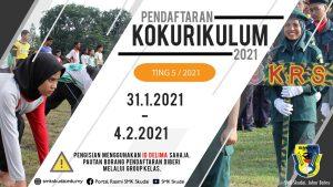 Read more about the article Pendaftaran Kokurikulum Tingkatan 5 Tahun 2021 secara Atas Talian bermula 31 Januari – 4 Februari 2021