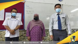 Lawatan Pemantauan Pembukaan Sekolah 2021 dari Pengawai PPD Johor Bahru