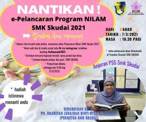 Makluman Majlis Pelancaran Program NILAM SMK Skudai 2021