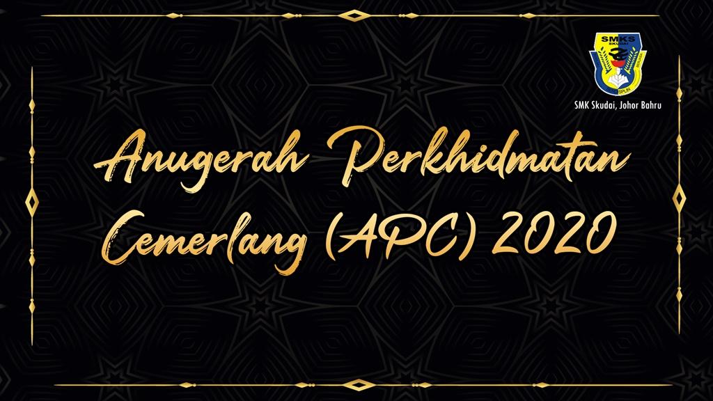Read more about the article Anugerah Perkhidmatan Cemerlang 2020