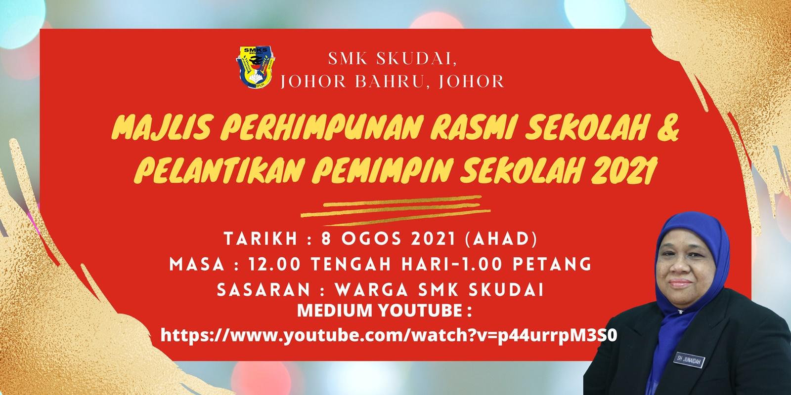 Read more about the article Makluman: Majlis Perhimpunan Rasmi Sekolah dan Pelantikan Pemimpin Sekolah 2021