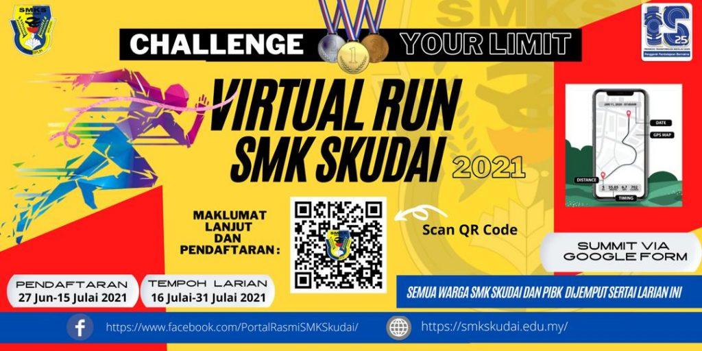 Kejohanan Virtual Run SMK Skudai 2021