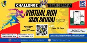 Read more about the article Kejohanan Virtual Run SMK Skudai 2021