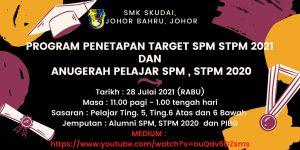 Read more about the article Makluman: Majlis Penetapan Target SPM dan STPM 2021 & Anugerah Pelajar Cemerlang SPM dan STPM 2020