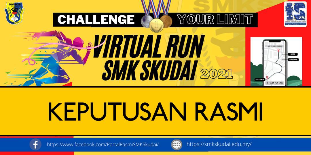 Read more about the article Keputusan Rasmi Kejohanan Virtual Run SMK Skudai 2021